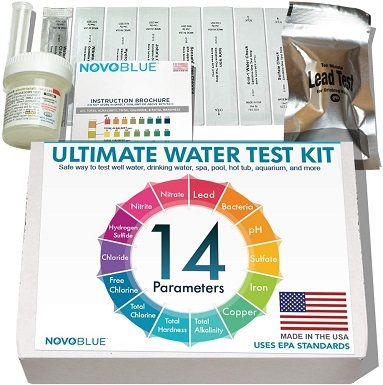 10NovoBlue 14-in-1 Home Water Test Kit