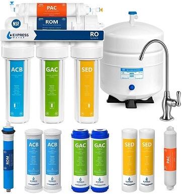 2Express Water RO5DX Reverse Osmosis Filtration NSF Certified