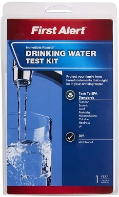 2First Alert WT1 Drinking Water Test Kit