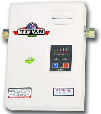 2Titan SCR2 N-120 Electric Tankless Water Heater 220 Volts