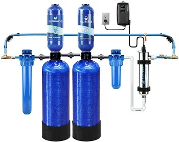3Aquasana EQ-WELL-UV-PRO-AST Whole House Well Water Filter System