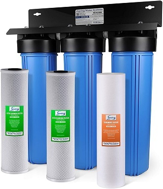 3iSpring WGB32B 3-Stage Whole House Water Filtration System