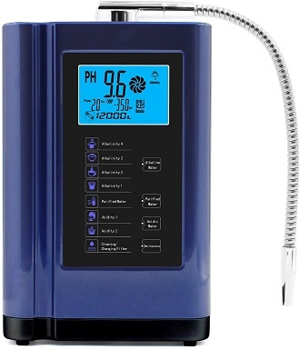 6Alkaline Water Ionizer