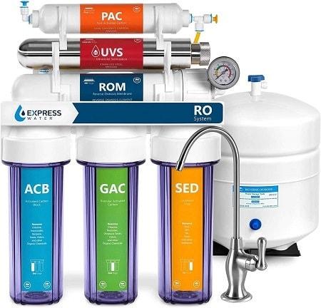 7Express Water Ultraviolet Reverse Osmosis