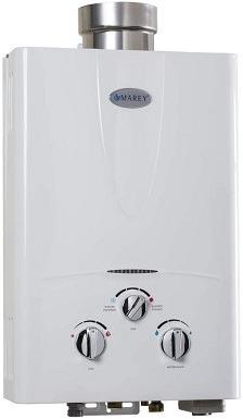 8Marey GA10LP Power 10L 3.1 GPM Propane Gas Tankless Water Heater