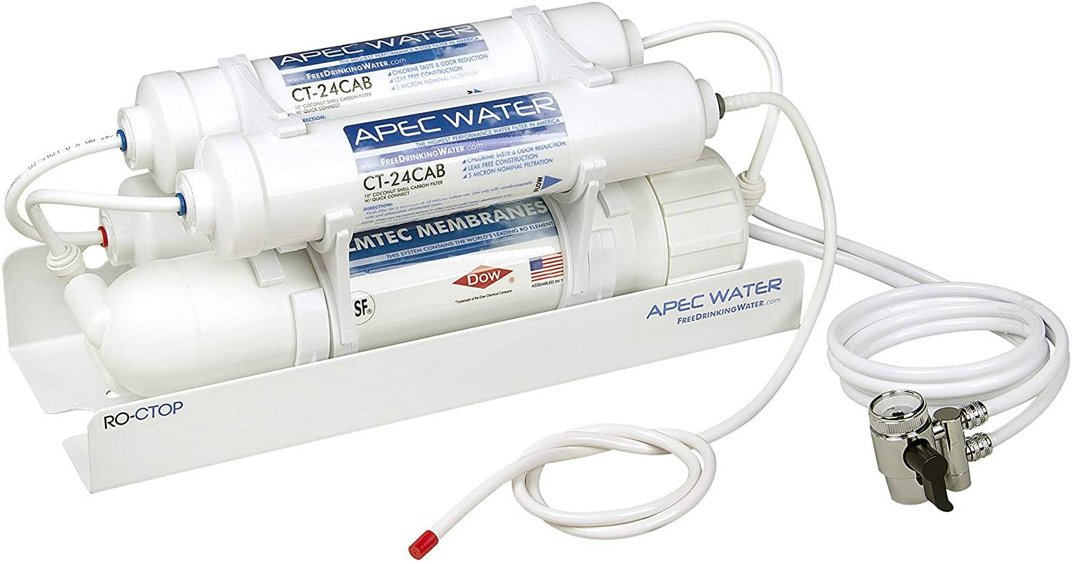 APEC Water Systems RO-CTOP Portable Countertop Reverse Osmosis Water Filter System
