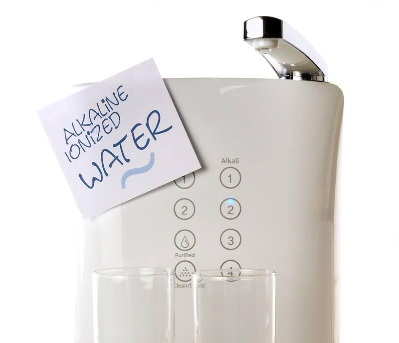 Alkaline Ionized Water on white_food impressions_shutterstock