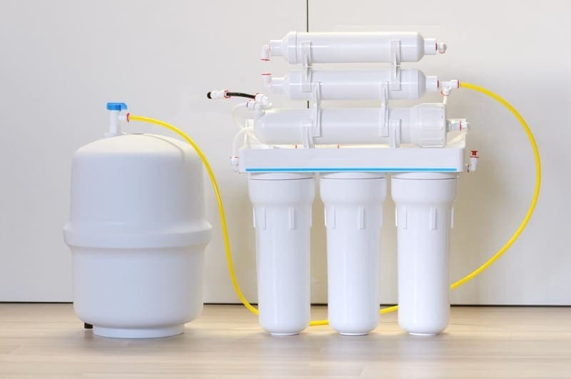 Domestic reverse osmosis filter