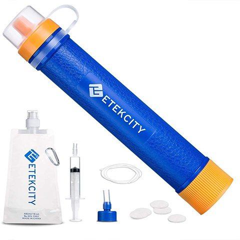 Etekcity 679113376793 Water Filter Straw