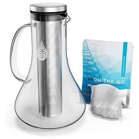 Invigorated Water Glass Alkaline Water Filter Pitcher