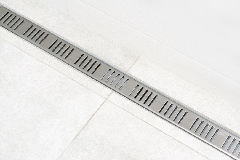 Linear shower drain_AndriiKoval_shutterstock