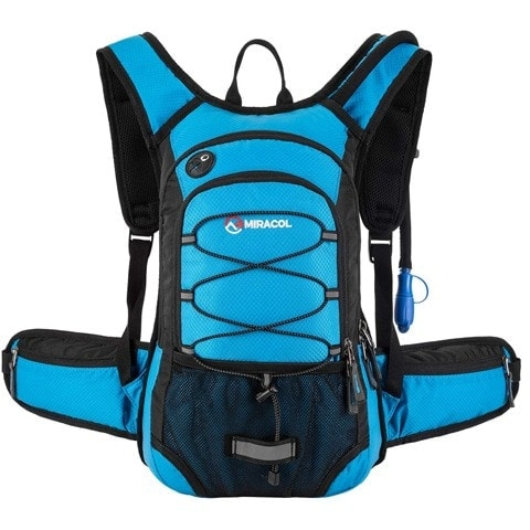 MIRACOL HP-1015-BL Hydration Backpack