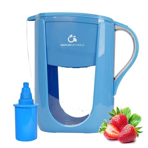 Naples Naturals AOK109 Alkaline Water Filter Pitcher