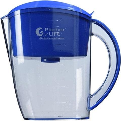 Pitcher of Life Alkaline Water Filter Pitcher