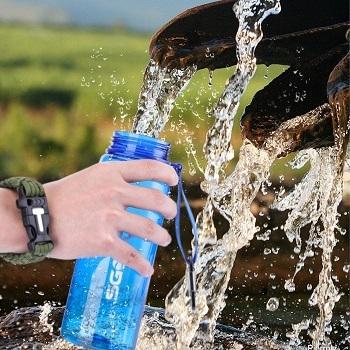 SGODDE Water Filter Bottles