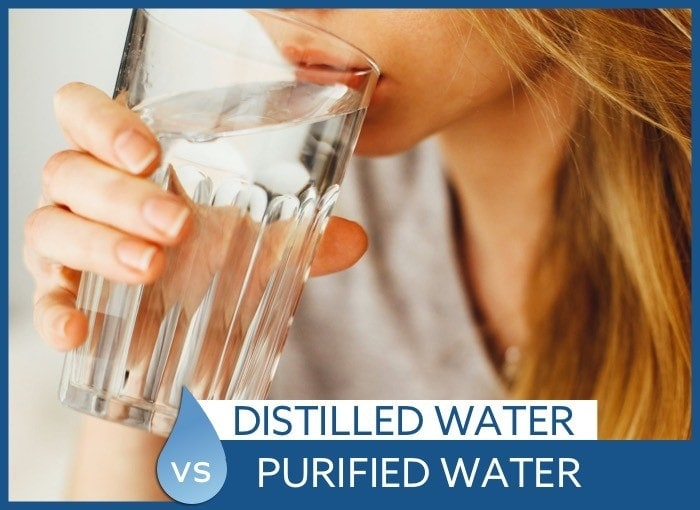 distilled vs purified