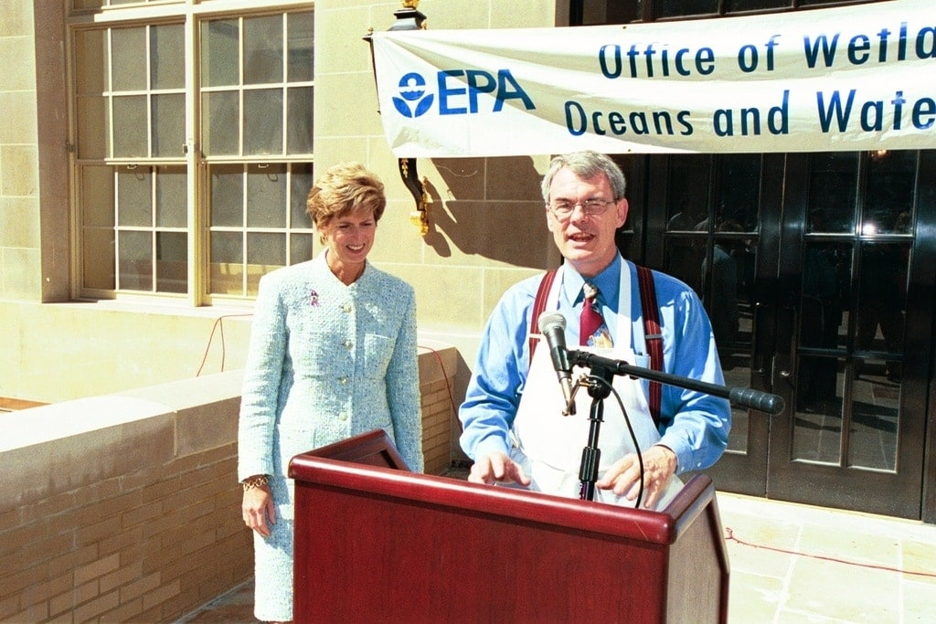 EPA office of wetlands oceans and watersheds PR event