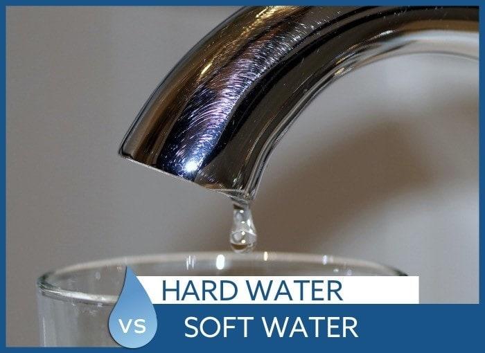 hard water soft water