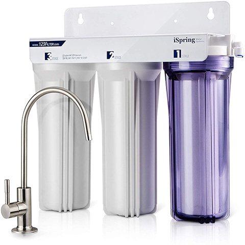 iSpring US31 3-Stage Under Sink Water Filter