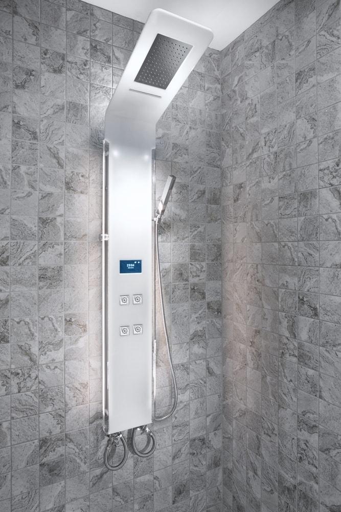 luxury panel shower head
