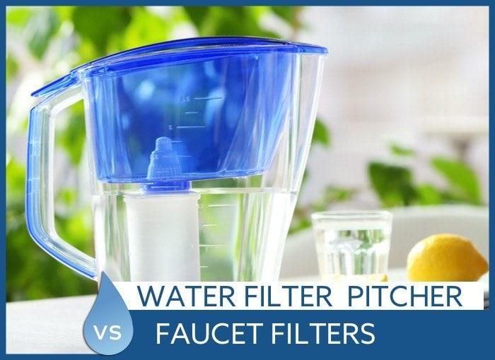 water filter vs faucet