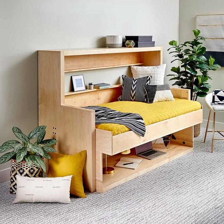 Diy Murphy Bed Desk Combo Plans, Twin Murphy Bed Desk Combination